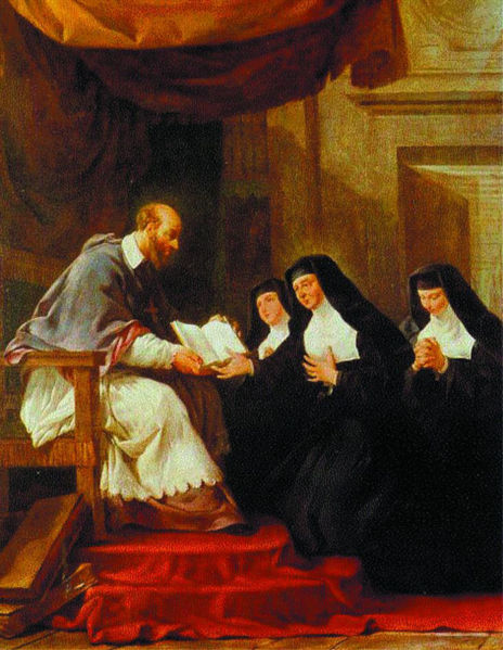 St Francis de Sales and St Jeanne de Chantal